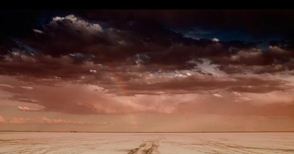 land 21 #clouds #sand #desert