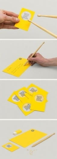 Bang Your Own Drum #card #business