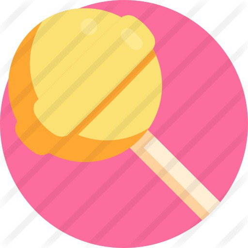 See more icon inspiration related to lollipop, birthday and party, food and restaurant, kid and baby, sweets, candy, sugar and food on Flaticon.
