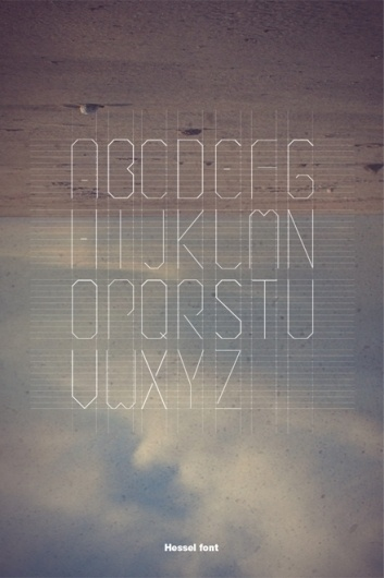 Revolutionary Road on the Behance Network #font #clouds #down #hessel #upside