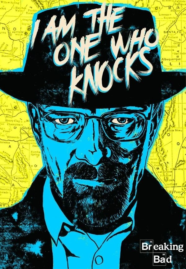 Breaking Bad #breaking #knocks #the #who #one #bad #im