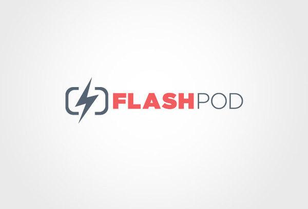 Flashpod David Burns   Graphic Design Portfolio #thunderbolt #photobooth #flashpod #branding