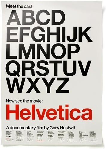 Helvetica / Hustwit - Experimental Jetset #experimental #grid #poster #jetset #helvetica #typography