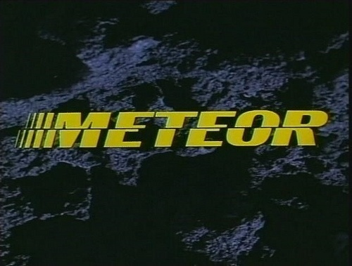 GIOR KONDUCTA - matthewlyons: Meteor (1979) (via onibabah) #still #cinema #typography