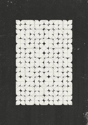 Planetary Folklore #pattern #geometric #blackwhite