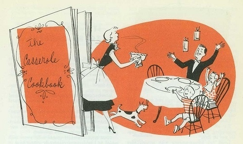 casserole-cookbook-1 | Flickr - Photo Sharing! #illustration #cook #book