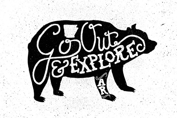 Handlettering Set Vol. 1 on Behance by Matt Elbert #hand drawn #illustration #typography