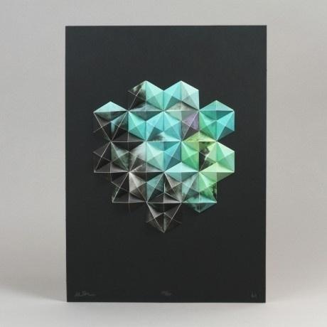 Aleatoric Series — The New Graphic #mixed #media #geometric #art