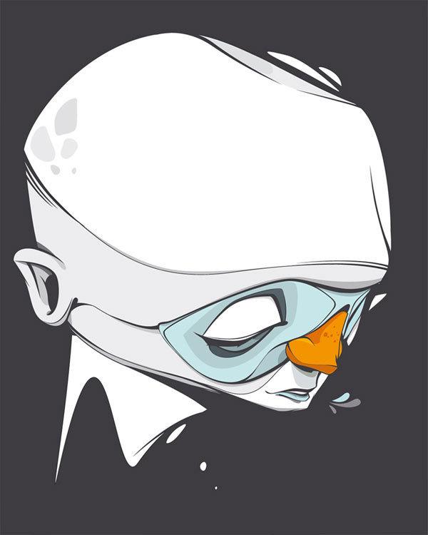Beautiful vector illustrations by Christian Schupp aka ARO #illustration