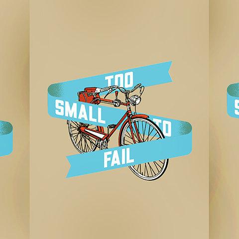 World Famous Design Junkies » Too Small to Bike #illustration #bike #poster