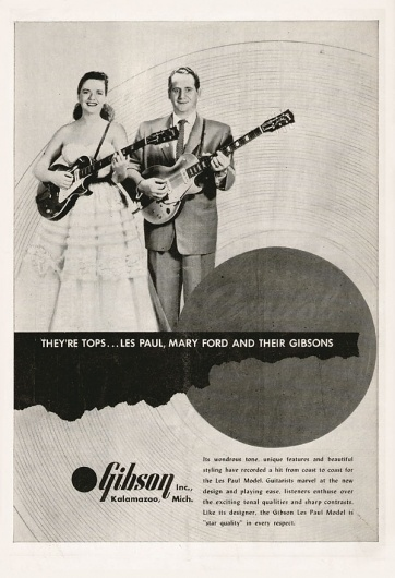 Gibson advertisement 1953 #vintage #advertising