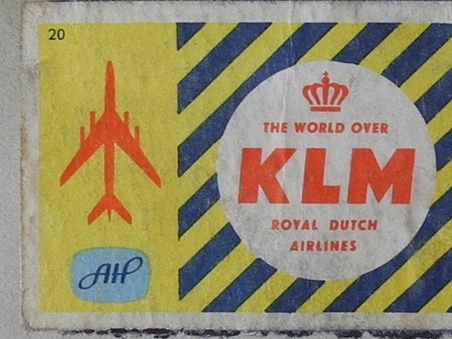 momentitus ((by Swaalfke)) #pattern #design #color #klm #airline #ephemera