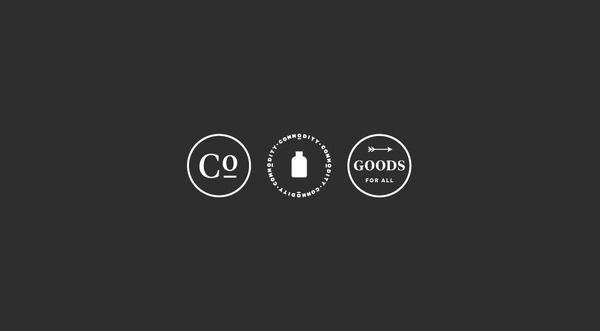 Commodity × Ferroconcrete — SI Special #branding #white #black
