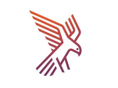 Falcon #morris #oscar #bird #falcon #logo