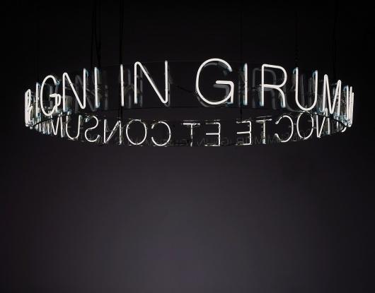 All sizes | In Girum Imus Nocte et Consumimur Igni, 2006 | Flickr - Photo Sharing! #exhibition #inspiration #motto