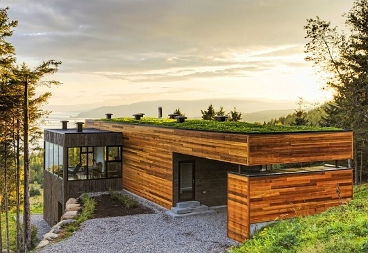 Mu-Architecture-House-Cliffs.jpg (728×502) #wood #architecture
