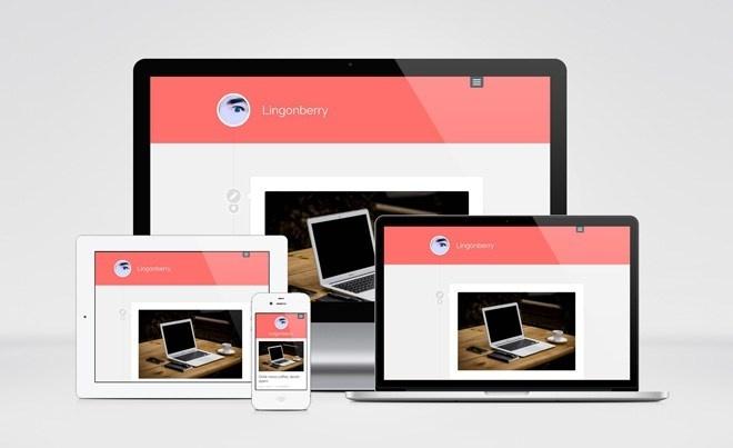 Lingonberry : Simple Wordpress Theme for Blogger