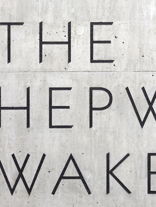 Hepworth #font #engraved #lettering #concrete #hepworth #type #typography