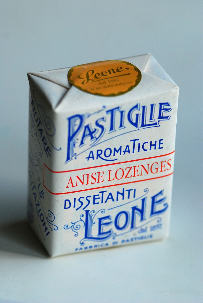 Lozenges packaging from Leone #packaging #print #design #inspiration