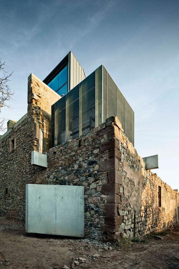 The Saint Francis Convent Church by David Closes inSantpedor, Spain | Yatzer #reuse #architecture #adaptive