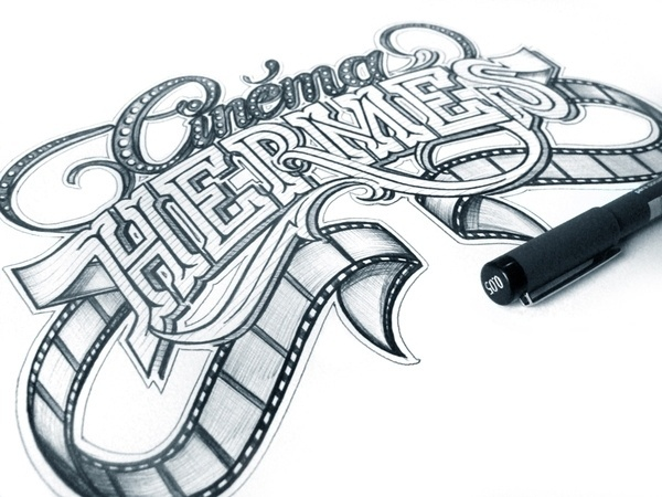 Hand Lettering on the Behance Network #handwriting #lettering #typography