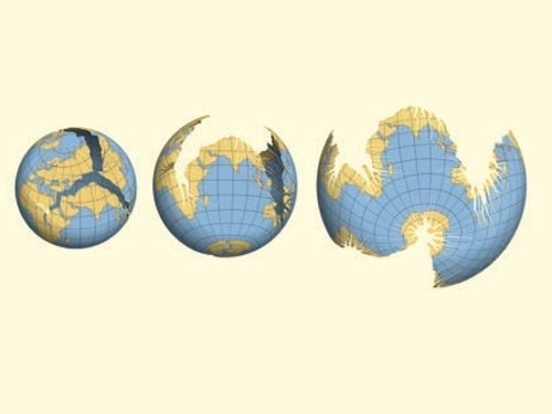 BLDGBLOG: Cracking the Planet #earth #globe #map