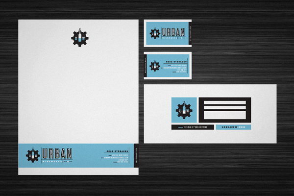 Urban Wine Works #print #branding