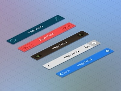 UI Pack For iOS7 Please check full Preview: http://goo.gl/ln4k6A #flat #ios7 #clean #ui #iphone #app #navigation