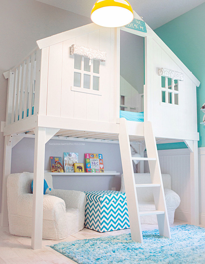 Indoor Treehouse #interior #design #decor #deco #decoration