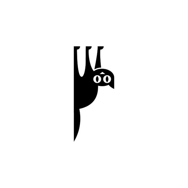 Unsold Logos, by Luke Bott #inspiration #creative #design #graphic #cat #black #logo