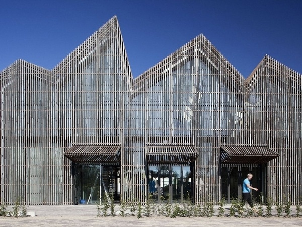 KAAP SKIL Museum News Frameweb #wood #architecture #screens #facades