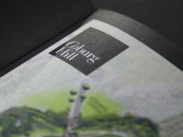 Coburg Hill #cosmopolitan #property #hill #black #marque #real #coburg #logo #estate #brochure #satterly