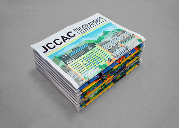 JCCAC Programme May and June Issues on Behance #kong #design #graphic #jccac #good #cover #illustration #morning #hong #editorial