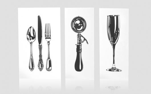 Anagrama | Al Fresco #illustration #menu