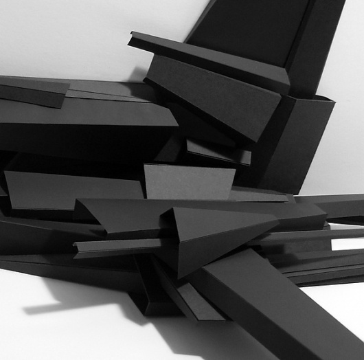 Physical Models on the Behance Network #abstract #model #cardboard #design #conceptual #architecture