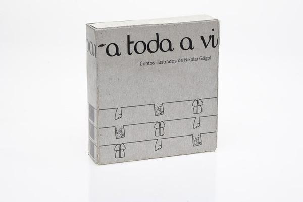 Uma caixa para toda a vida on Behance #packaging #design #books #illustration #gogol #editorial