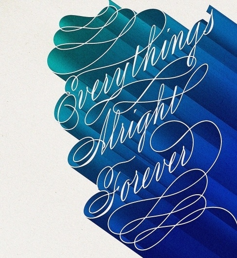 Friends of Type #calligraphy #poster #typography