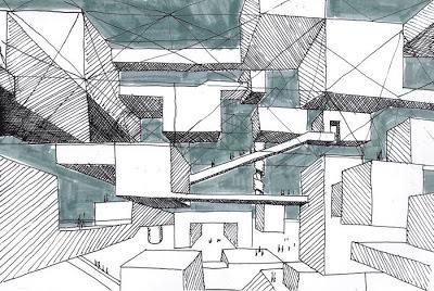 Yona Friedman - Ville spatiale, the Spatial City #urban