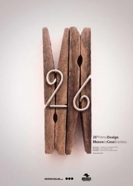 26º Prêmio Design-Museu da Casa Brasileira. #clips #number #poster