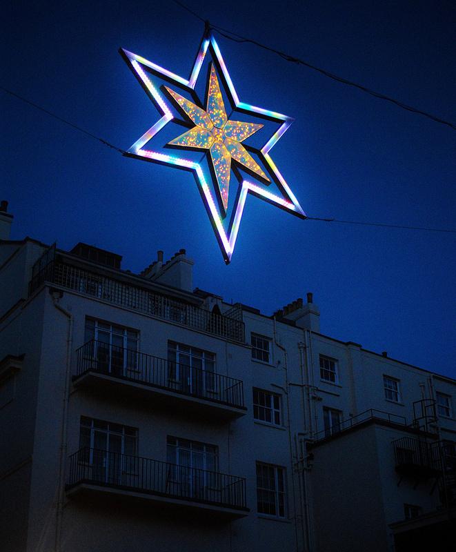 London twinkles   Flickr - david walby #london #walby #christmas #photography #star #david