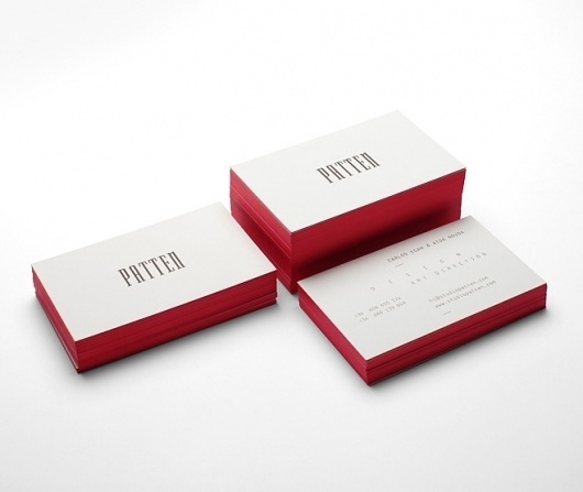 lovely-stationery-patten1.jpg 658×555 pixels #emboss #stamp #business #card #design #graphic #identity