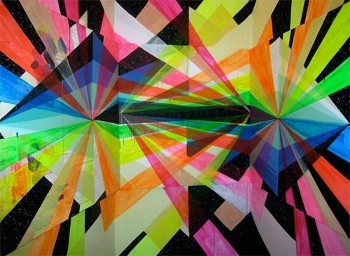 Maya Hayuk - BOOOOOOOM! - CREATE * INSPIRE * COMMUNITY * ART * DESIGN * MUSIC * FILM * PHOTO * PROJECTS #arts #maya #colors #hayuk