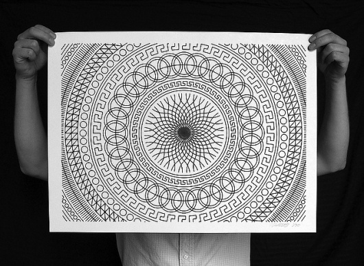 MWM NEWS BLOG: Numerically Controlled : Poster Series. #computer #sharpie #patterns #drawing
