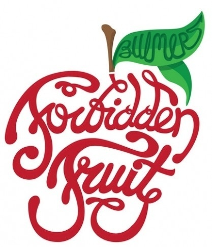 FF_logo-417x485.jpg (417×485) #festival #typography #fruit #logo #forbidden