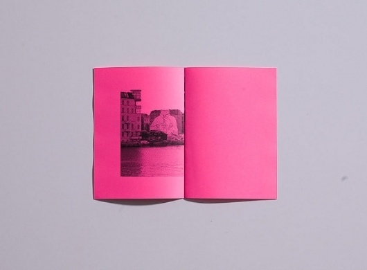 Fluctus Type Specimin - DAVID TORR #zine #pink #print #photography #booklet #magazine #typography