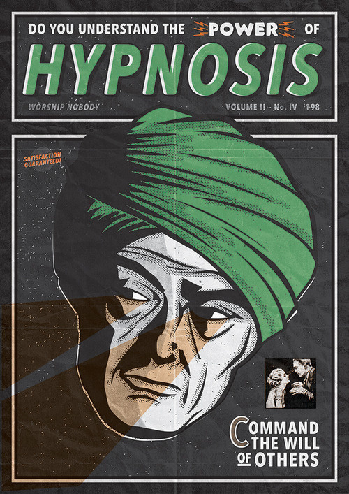 HYPNOSIS - COMMAND THE WILL OF OTHERS #hypnosis #comic #cover #graphic