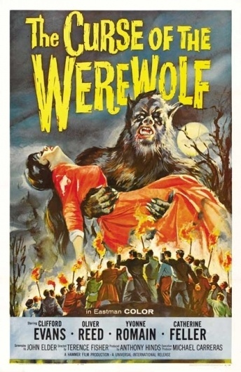 100 Illustrated Horror Film Posters: Part 2 // WellMedicated #horror #retro #vintage #werewolf