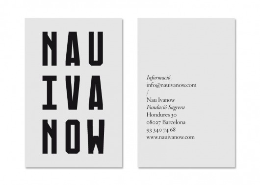La Nau Ivanow | StudioAparte #logotype #aparte #grid #ivanow #identity #studio #nau #typography