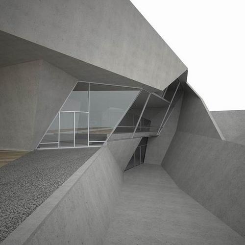 OTAKU GANGSTA #angular #architecture #geometric