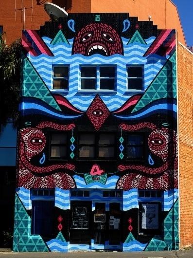 Beastman4.jpg (600×800) #graffiti #outdoor #illustrations #buildings